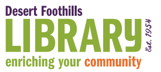 Welcome to the Desert Foothills Library Online Catalog